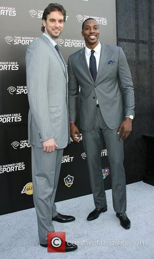 Pau Gasol and Dwight Howard