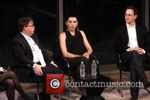 Robert King, Josh Charles and Julianna Margulies