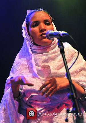 Tinariwen  perform live at the Shepherds Bush Empire. London, England - 03.05.12