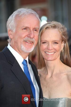 James Cameron, Suzy Amis and Royal Albert Hall