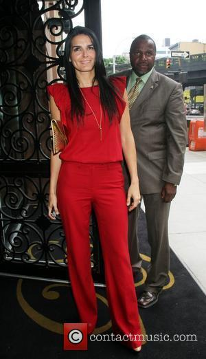 Angie Harmon TNT/ TBS Upfront 2012 lunch reception at Del Posto - outside New York City, USA - 16.05.12