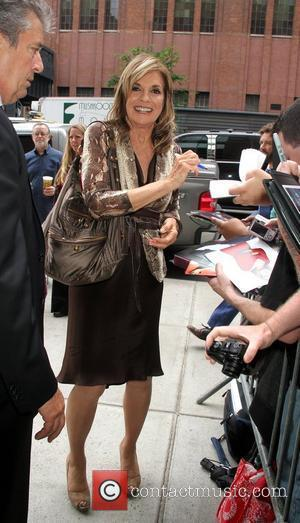 Linda Gray Caught On Hockey 'Kiss-cam'
