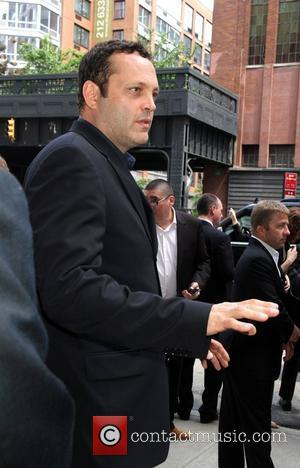 Vince Vaughn  TNT/ TBS Upfront 2012 lunch reception at Del Posto - outside New York City, USA - 16.05.12