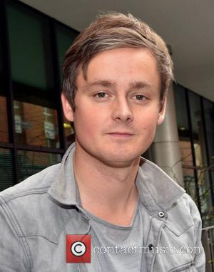 Tom Chaplin of rock band Keane  outside the Today FM studio. Tom and other band members performed tracks from...