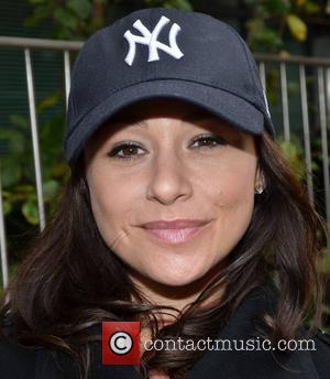 Danielle Harris outside the Today FM studios Dublin, Ireland - 26.10.12