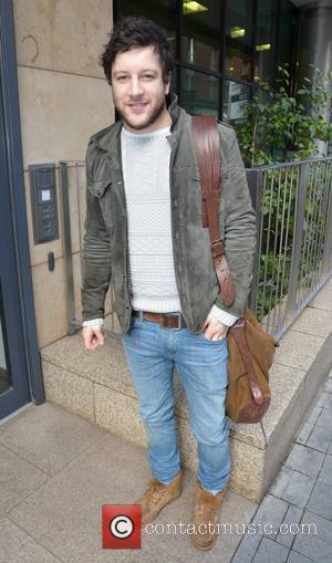 Matt Cardle outside the Today FM studios Dublin, Ireland - 26.10.12