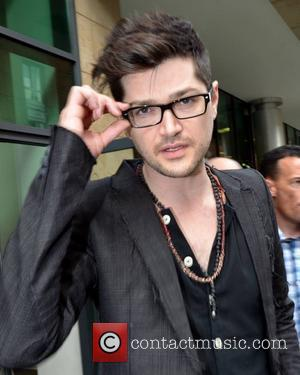 Danny O'Donoghue - The Script Celebrities outside the Today FM studios Dublin, Ireland - 07.09.12
