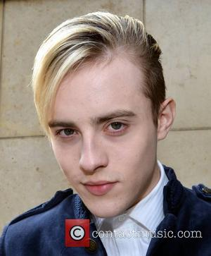 Jedward aka John Grimes and Edward Grimes arriving at Today FM for the Ray Foley Show Dublin, Ireland - 09.10.12