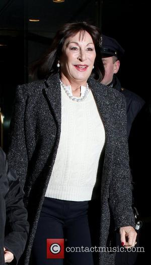 Anjelica Huston Celebrities at NBC Studios for the 'Today' show New York City, USA - 20.02.12
