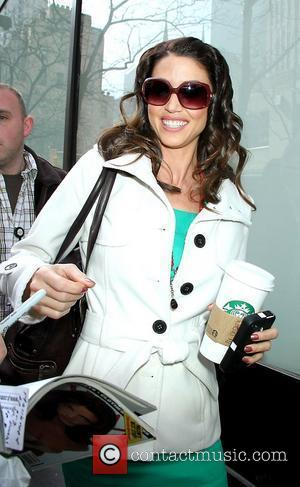 Shannon Elizabeth arrives at NBC Studios for an appearance on 'Today' to promote 'American Reunion' New York City, USA -...