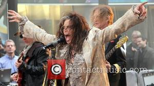 Steven Tyler of Aerosmith   performing live during the 'Today Show' concert series in New York City New York,...