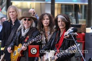Steven Tyler, Joe Perry  Aerosmith performing live during the 'Today Show' concert series in New York City New York,...