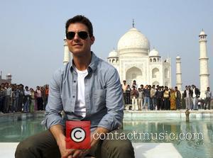 Tom Cruise and Taj Mahal