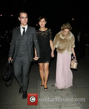 Matt Willis and Emma Willis The wedding of McFly's Tom Fletcher and Giovanna Falcone in Marylebone - Departures London, England...