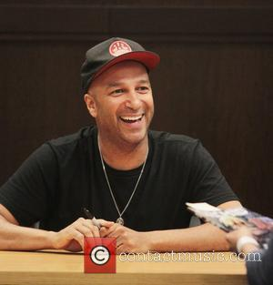 Tom Morello signs copies of his graphic novel 'Orchid' at Barnes & Noble bookstore at The Grove  Los Angeles,...
