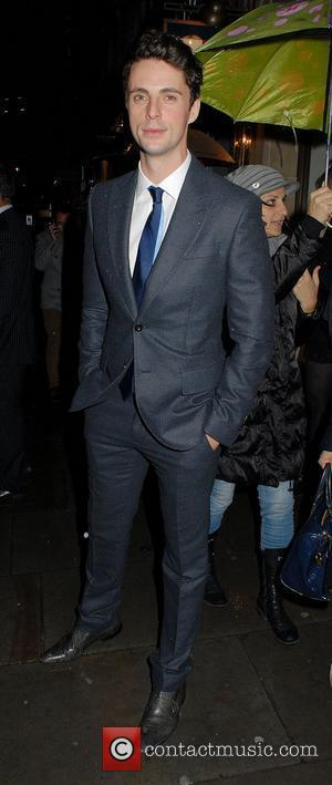 Matthew Goode ,  at the VIP opening of Tommy Hilfiger Flagship Store. London, England - 01.12.11