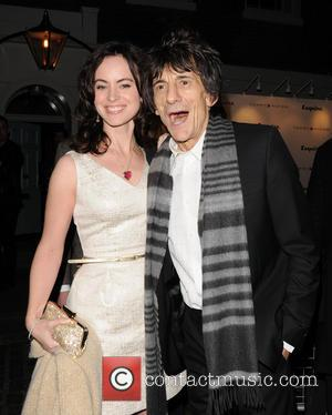 Ronnie Wood, Sally Humphreys and The Zetter Townhouse