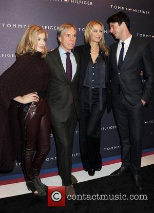 Chloe Moretz, Matthew Goode and Tommy Hilfiger