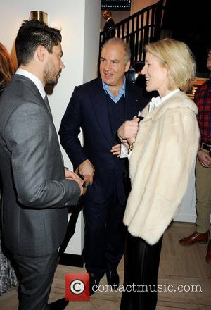 Dominic Cooper, Charles Finch, Sydney Ingle-Finch VIP opening of Tommy Hilfiger Flagship Store - Inside London, England - 01.12.11...