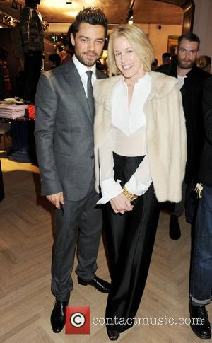 Dominic Cooper, Sydney Ingle-Finch VIP opening of Tommy Hilfiger Flagship Store - Inside London, England - 01.12.11  This is...