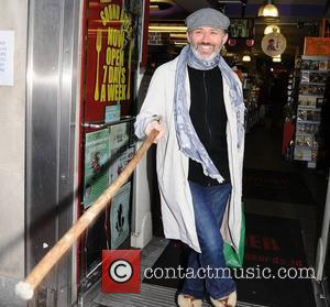 Tommy Tiernan arrives at Tower Records for his new DVD signing 'Crooked Man'  Dublin, Ireland - 17.12.11