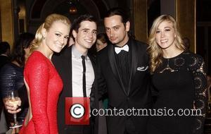 Constantine Maroulis and Guest The Official Tony Award After Party held at the Plaza Hotel New York City, USA -...