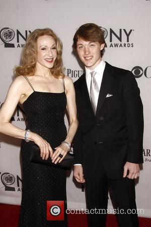 Jan Maxwell and Guest   The 66th Annual Tony Awards, held at Beacon Theatre - Arrivals  New York...