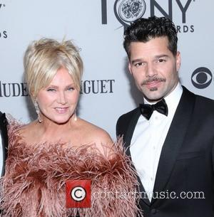 Deborra-Lee Furness, Ricky Martin The 66th Annual Tony Awards, held at Beacon Theatre - Arrivals New York City, USA -...