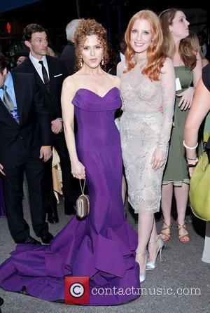 Jessica Chastain, Bernadette Peters and Beacon Theatre