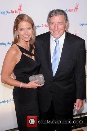 Katie Couric and Tony Bennett