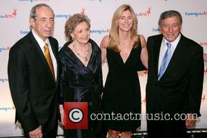 Mario Cuomo, Matilda Cuomo, Tony Bennett and Susan Benedetto
