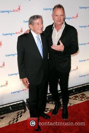 Sting and Tony Bennett