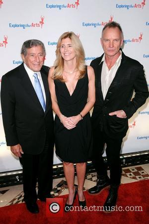 Sting, Tony Bennett and Susan Benedetto