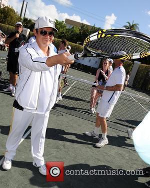 Alejandro Sanz  Tony Bennett's All-Star Tennis Event at Cliff Drysdale Tennis Center, Ritz Carlton  Key Biscayne, Florida -...