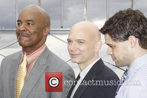 David Alan Grier, Jeremy Jordan and Michael Cerveris