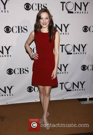 Laura Osnes 'Meet the 2012 Tony Award Nominees' press reception, held at the Millennium Broadway Hotel Times Square. New York...