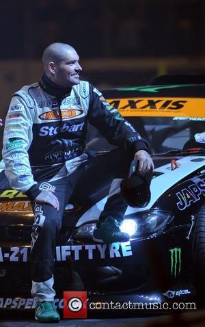 Shane Lynch (Boyzone) with his Japspeed Drifting car  Top Gear Live 2012 from the NEC Birmingham Birmingham, England -...