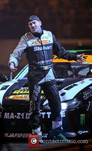 Shane Lynch (Boyzone) with his Japspeed Drifting car   Top Gear Live 2012 from the NEC Birmingham Birmingham, England...