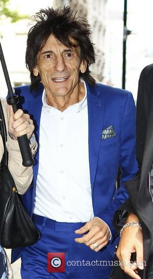 Ronnie Wood  High street retailers catwalk show to celebrate the British Fashion Council's inaugural menswear showcase - Topman Design...