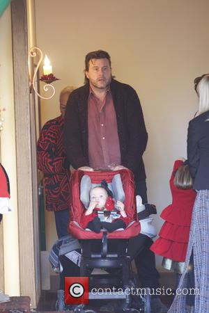 Dean Mcdermott and Finn Mcdermott