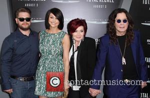 Jack Osbourne, Ozzy Osbourne, Sharon Osbourne and Grauman's Chinese Theatre