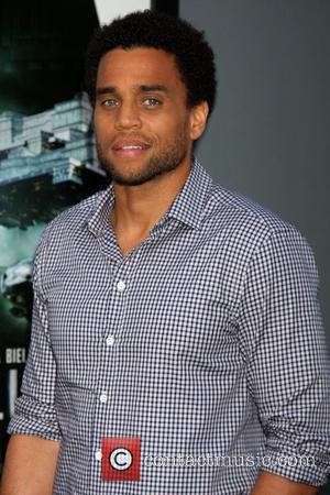 Michael Ealy and Grauman's Chinese Theatre