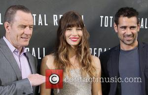 Bryan Cranston, Colin Farrell and Jessica Biel