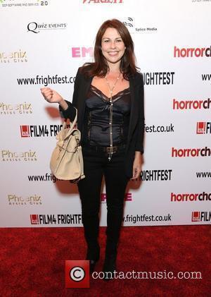 Julie Graham Film4 Frightfest: Tower Block closing film - Arrivals London, England - 27.08.12