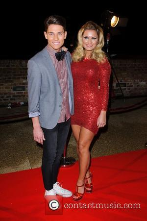 Joey Essex and Sam Faiers The Only Way Is Essex - LIVE episode - James Argent's Charity Show - Arrivals...