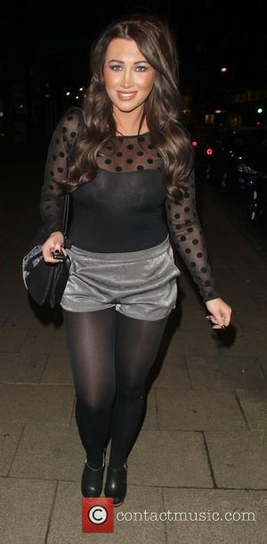 Lauren Goodger The cast of 'The Only Way Is Essex' enjoy a night out together at Nu Bar in Loughton...