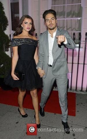 Lucy Mecklenburgh and Mario Falcone at TOWIE's wrap party held at 5 Cavendish Club London, England - 22.08.12