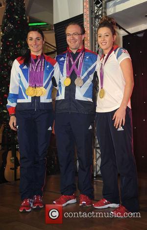 Sarah Storey, Richard Storey and Jade Jones