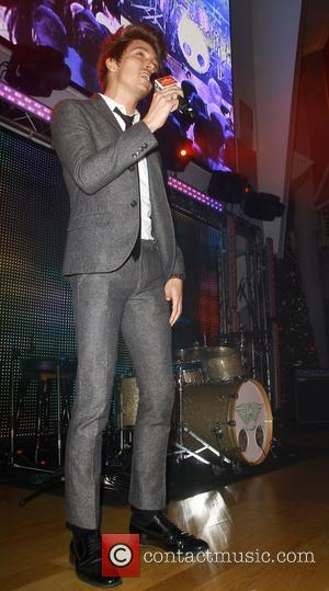 Tyler James Manchester Trafford Centre Christmas Lights - Switch On - Performances Manchester, England - 01.11.12