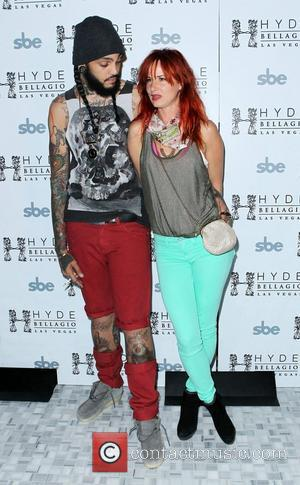 Travie McCoy, Juliette Lewis Travie McCoy of Gym Class Heroes at Hyde Bellagio Resort  Las Vegas, Nevada -27.05.12